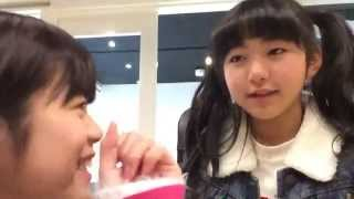 A short SHOWROOM live broadcast with Hypericum members Haruka and N...
