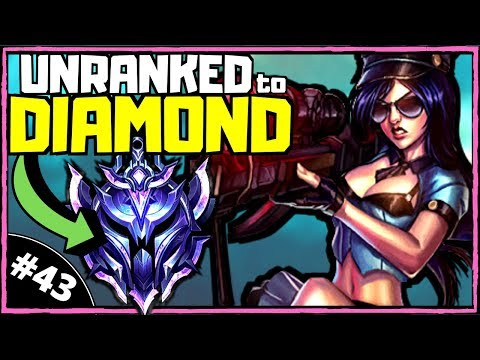 HUGE Caitlyn Buffs | Unranked To Diamond ADC [Ep. 43] | League Of Legends (Season 10)