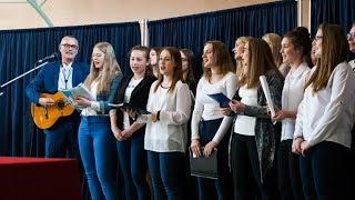 ZS im. Staszica w Małkini Górnej - Zakończenie roku szkolnego maturzystów
