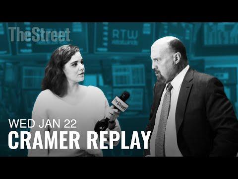 Jim Cramer's Breaking Down Tesla's $100 Billion Market Cap, IBM's Earnings, and Phase Two