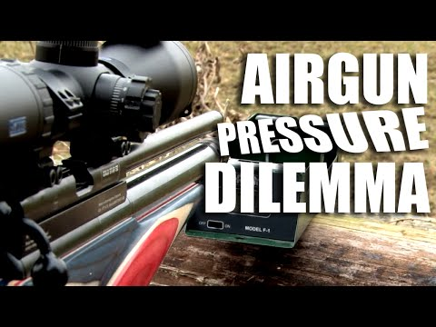 Airgun Pressure Dilemma - the ABC OF HFT