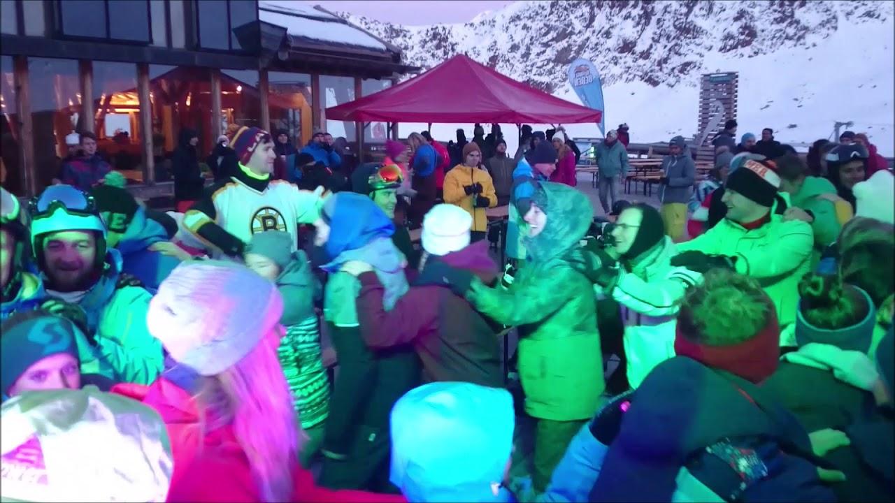 DJ Sunshine in Action @  Schneebeben am Kaunertaler Gletscher am 17.11.2018