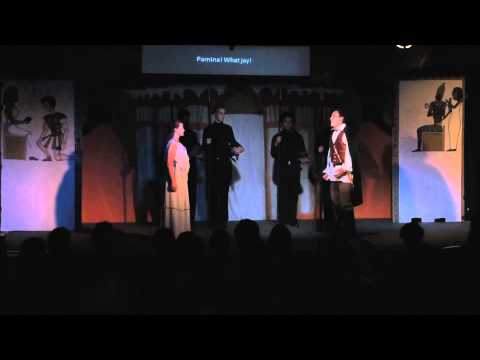 Highlights from The Magic Flute at Thomas Aquinas College
