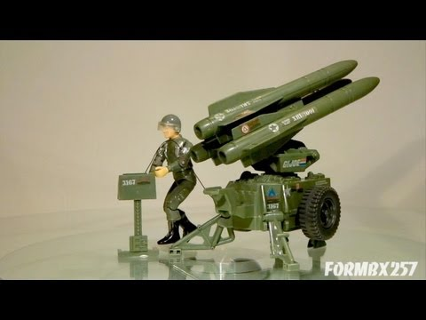 1982 G.I. Joe MMS and Hawk review