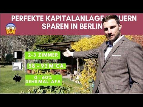 Die Perfekte Kapitalanlage - Steuern Sparen In Berlin ?