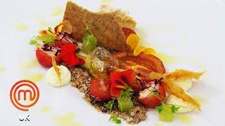 Maltese Inspired Crab Dish   MasterChef UK   MasterChef World