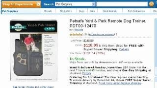 Petsafe Yard & Park Remote Dog Trainer