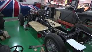 Jaguar XK 150 Engine & Chassis Test Drive Setup Part 1