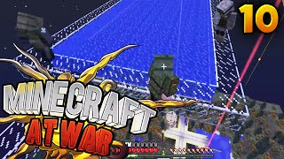 Minecraft At War SMP Ep. 10 - CRAZY TRAP ABOVE ENEMY BASE!! (Season 2) (Custom Modpack)