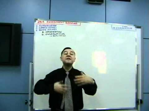 Financial Institutions, Lecture 10
