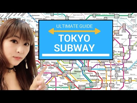 HOW TO USE THE TOKYO SUBWAY | JAPAN TRAVEL GUIDE