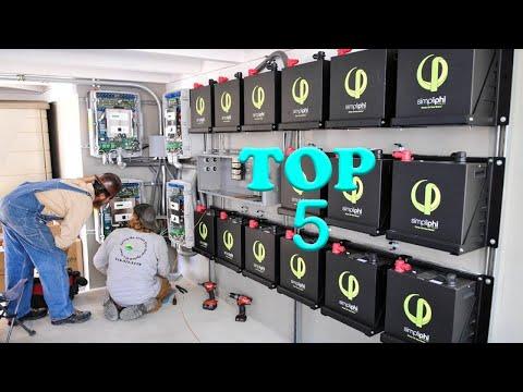 Top 5 Best Solar Battery For Solar System in 2020 | The Best Solar Batteries [2020]