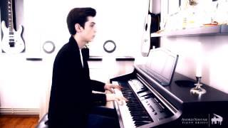 Aura Dione - Friends ft. Rock Mafia [Piano Cover by Andrei Nastase]