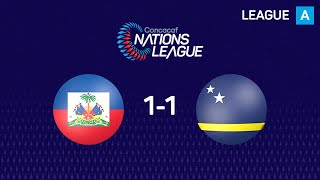 Curacao and Haiti played an exciting 1-1 draw