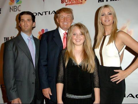 Los Hijos de Donald Trump salen en su Defensa - YouTube