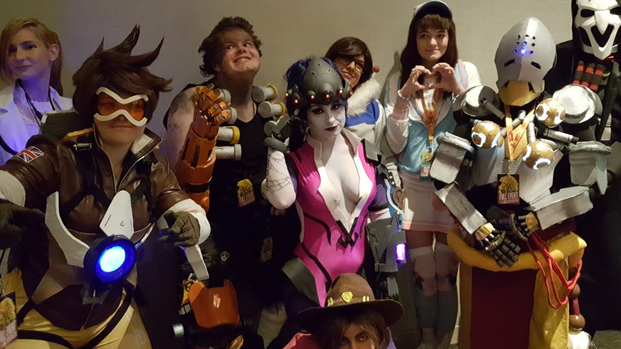 Phoenix Comic Con 2017 Ask Overwatch