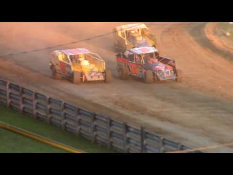 Little Valley Speedway BRP Big Block Modiifed Heat Races 7-3-17