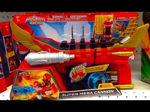 Power rangers super mega force super mega cannon toy for Palazzi super mega