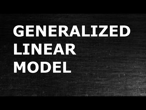 Generalized Linear Model (GLM Model): Theory