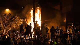 Riots erupt in several US cities following Minnesota police killing of handcuffed black man