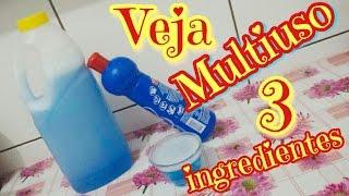 VEJA MULTIUSO CASEIRO COM 3 INGREDIENTES