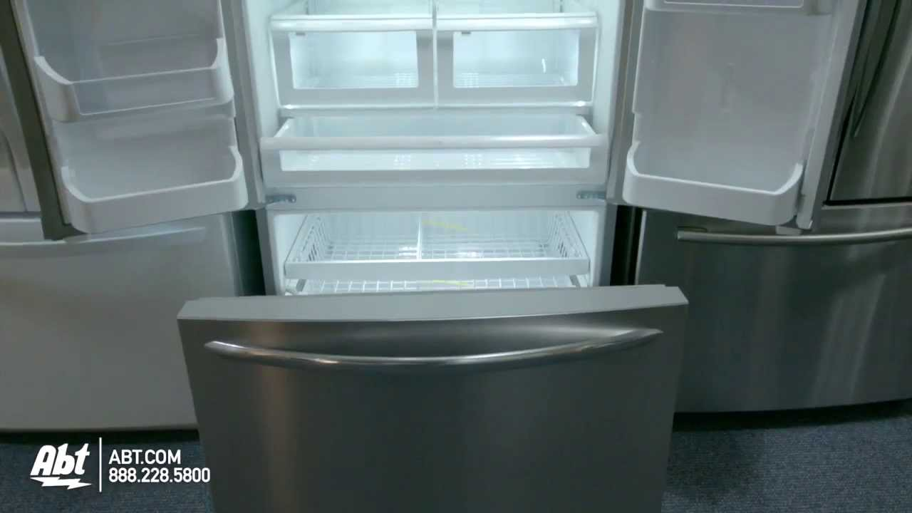 Frigidaire Gallery French Door Refrigerator FGHB2866PP...   YouTube