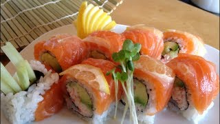Sushi Rollo [washington Roll][alaskan Roll]receta