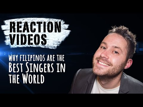 Why FILIPINOS Are The BEST SINGERS In The World | REACTION