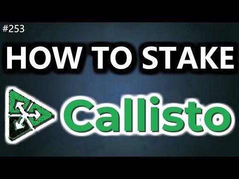 How To Stake Callisto (CLO)