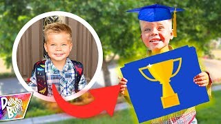 Ollie's Surprise LAST DAY OF SCHOOL Award! 😱🏆 Preschool Graduation Special!! (ADORABLE!!)
