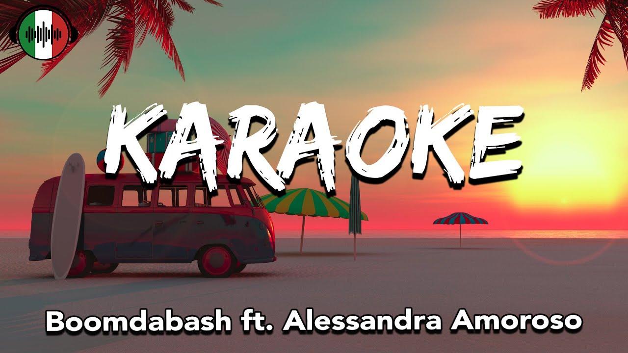 Photo of Boomdabash ft. Alessandra Amoroso – KARAOKE (Testo/Lyrics)