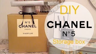 Diy Chanel No. 5 Perfume Bottle Storage Box