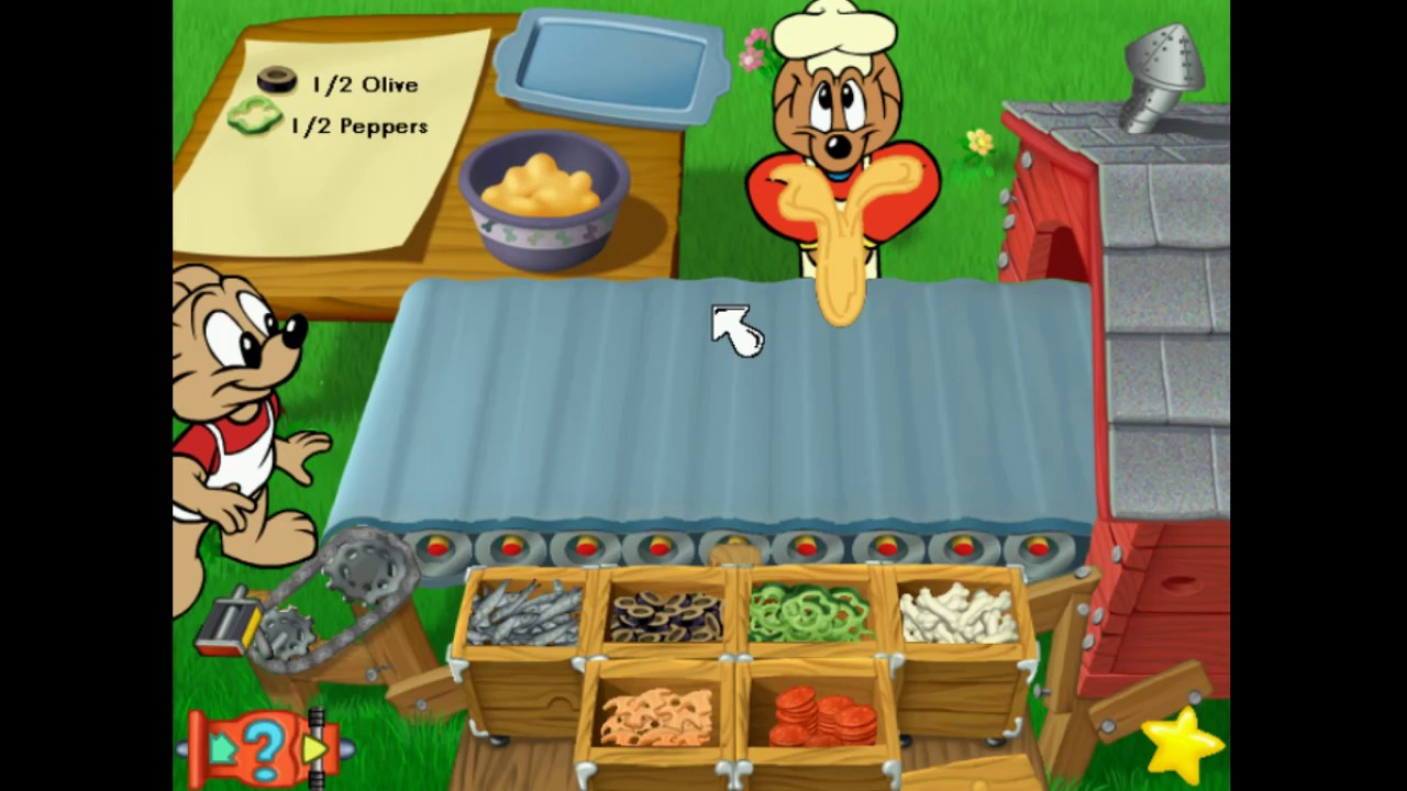 JumpStart Advanced 1st Grade Gameplay: Frankie\u0027s Pizza Stand - YouTube