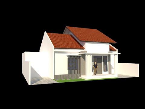 desain rumah minimalis 1 lantai #live eps1 - youtube