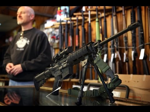 Коллекция оружия обычного Американца в США