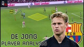 Frenkie De Jong / Barcelona's New Signing / Player Analysis