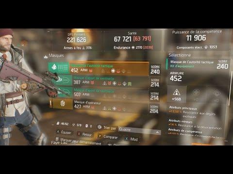 The division   DLC Incursion Challenge mode (expert) lvl 34    Loot set 240   FAZER CG