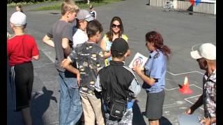 Безопасное колесо(Традиционно в летние каникулы в детских оздоровительных лагерях Управлением образования и госавтоинспеци..., 2012-07-17T05:28:59.000Z)