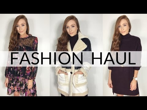 WINTER FASHION HAUL & TRY ON