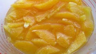 Натуральный мармелад из апельсинов в домашних условиях