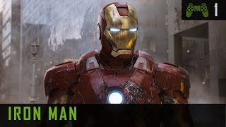 Iron Man 1 PC Gameplay - Walkthrough - Mission 1 Escape