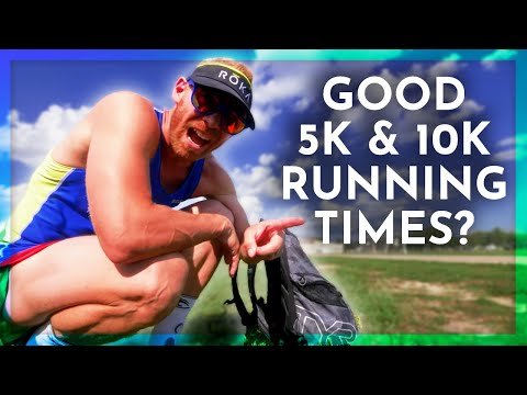 What are GOOD 5k & 10K RUNNING times for TRIATHLETES?