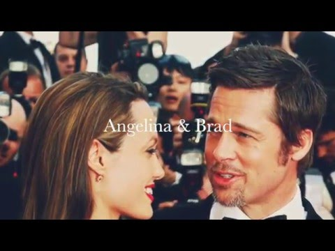 Angelina and Brad, true love - best moments ❤︎