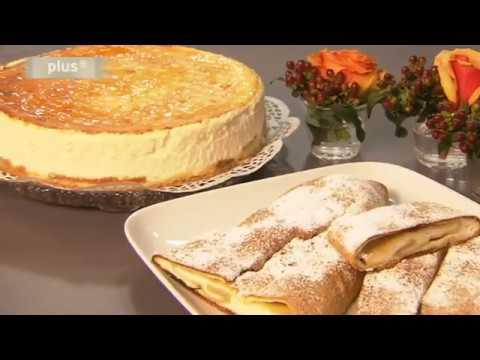 Lust Auf Backen  Käsekuchen & Quarkstrudel  Youtube