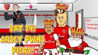 ⚽️ARSENAL vs NEWCASTLE 4-1⚽️ Arsene Wenger PWNS Piers Morgan! (Day 14 Goals Highlights 2015 Giroud)