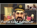 Tintin: Secret of The Unicorn | Co-op Tintin Gameplay | Funny Moments | Man Date #1