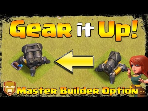 NEW: Update! Double Cannon By Using Gear Up | May 2017 Update | Clash Of Clans