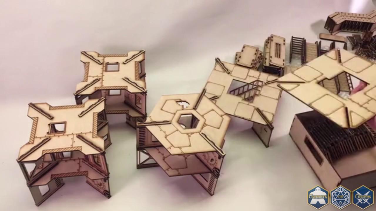 Kickstarter Spotlight - Industrial Bulkhead Terrain for 28mm Wargaming