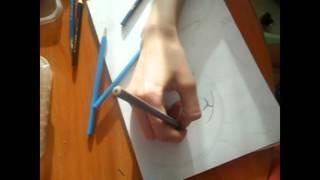 Рисую героя мультфильма