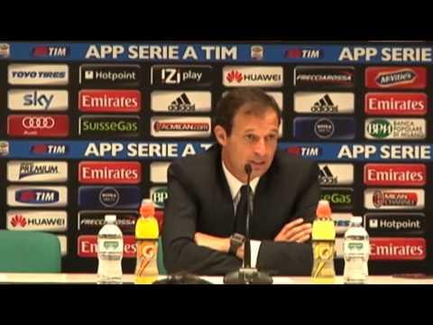 Massimiliano Allegri und Juve warnen die Serie A | AC Milan - Juventus Turin 0:1